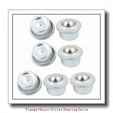 1-11/16 in x 5.3900 in x 9.0000 in  Dodge F4BC111E Flange-Mount Roller Bearing Units
