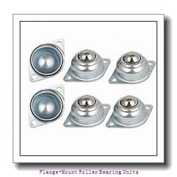 4 in x 7.6300 in x 9.4700 in  Dodge F4BUN2400E Flange-Mount Roller Bearing Units