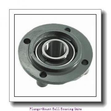 1.0000 in x 2.7500 in x 3.7500 in  Boston Gear (Altra) 5F 1 Flange-Mount Ball Bearing Units